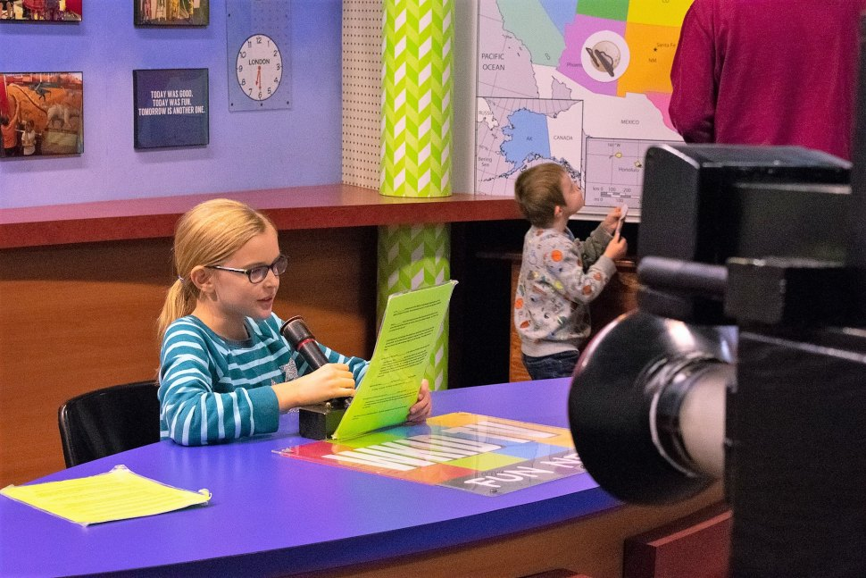 Children's Museum of La Crosse WKID TV Exhibit