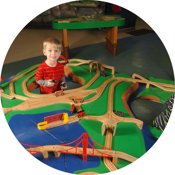 Children's Museum of La Crosse River & Bridges Exhibit