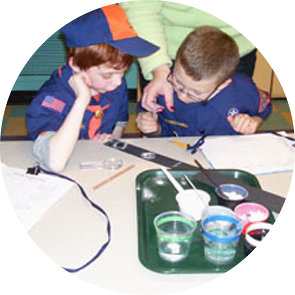 Children's Museum of La Crosse Scouts Programs