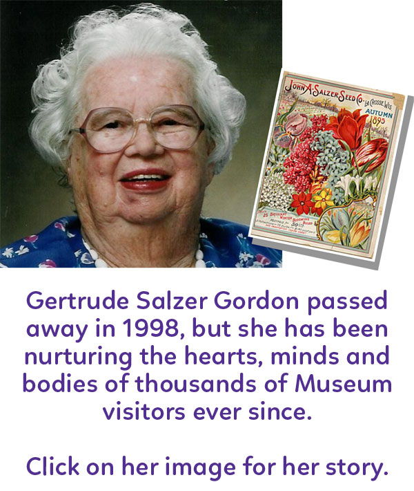 Children's Museum of La Crosse donor Gertrude Salzer Gordon