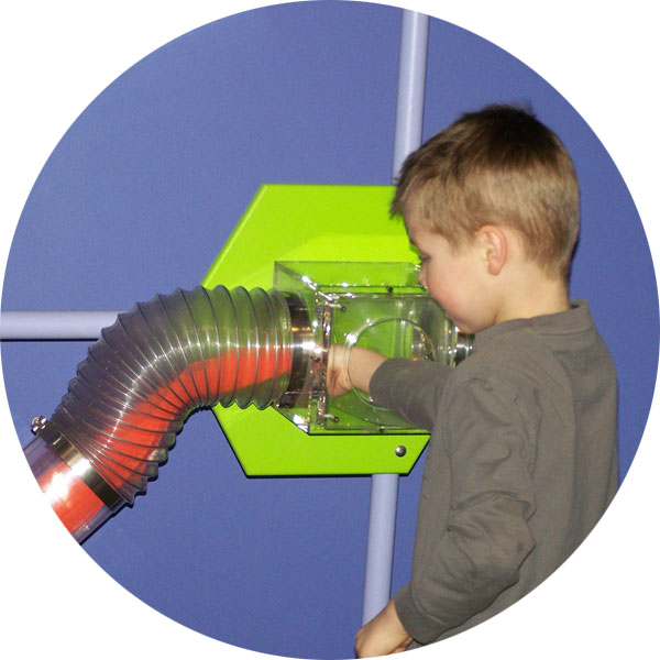 Children's Museum of La Crosse Whoosh Exhibit