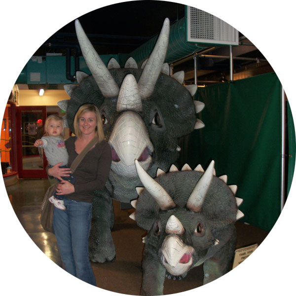 Children's Museum of La Crosse Dino Maze Exhibit