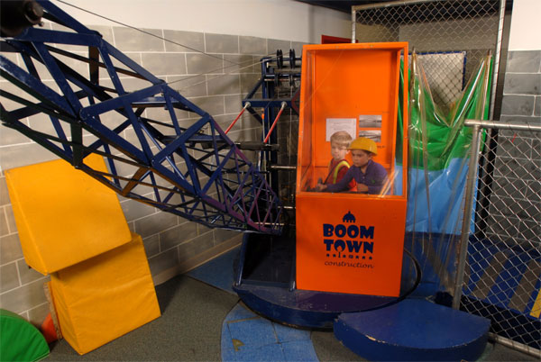 Children's Museum of La Crosse Kids' Crane Exhibit