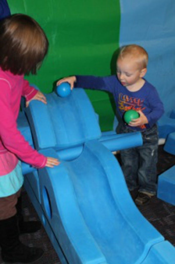Children's Museum of La Crosse Imagination Playground Exhibit