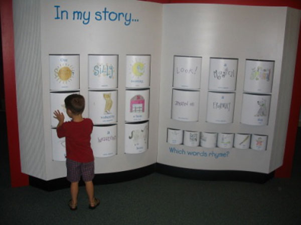 Children's Museum of La Crosse Me & My Story and Library Exhibit